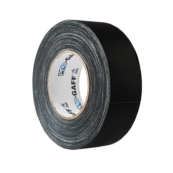 """Pro-Gaff 2"""" Gaffer Tape - Black"""