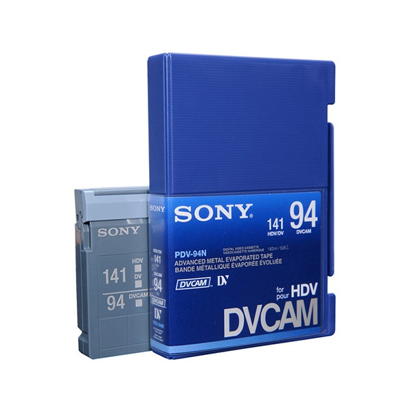 Sony DVCAM Video Cassette 94 minutes