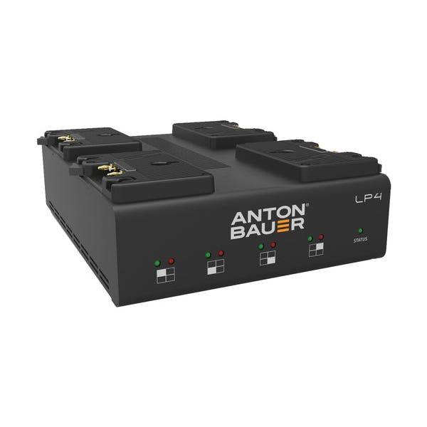 Anton Bauer LP4 Quad Gold-Mount Battery Charger