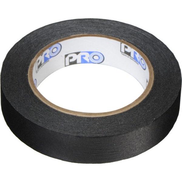 "Shurtape 1"" Masking Paper Tape - Matte Black"