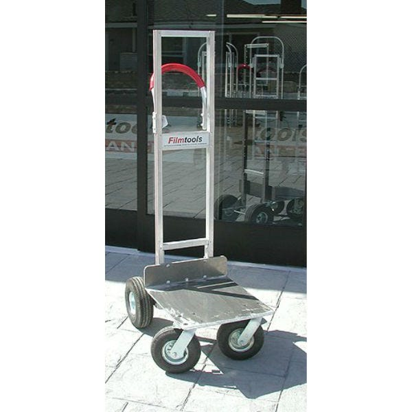 "Filmtools Vertical Senior Cart w/ 10"" & 8"" Pneumatic Tires"