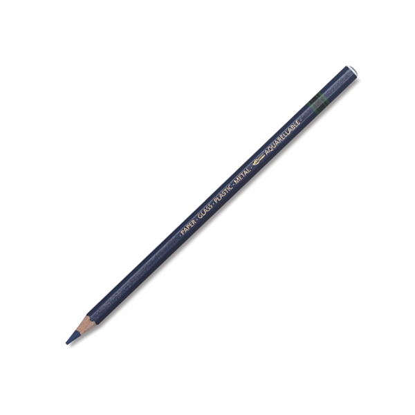 Stabilo Pencil Crayon (Grease Pencil) - Blue