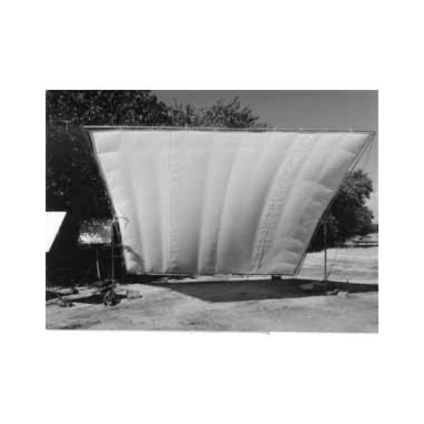 Matthews Studio Equipment 6 x 6' Butterfly/Overhead Fabric - Silver Grifflector