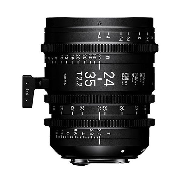 Sigma 24-35mm T2.2 FF Zoom Lens - E Mount