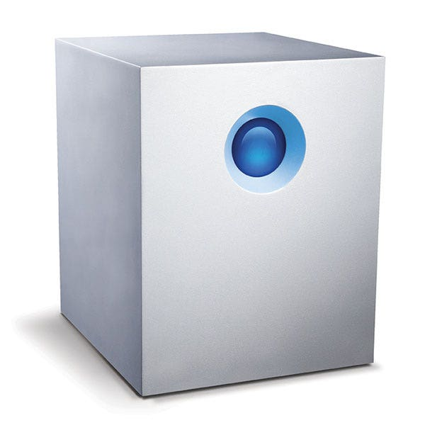 LaCie 20TB 5big Thunderbolt 2 Series 5-Bay RAID External Hard Drive - Open Box