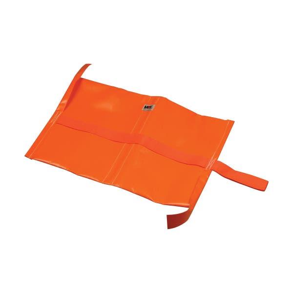 Matthews Studio Equipment 5 lbs Empty Water Repellant Sandbag - Orange