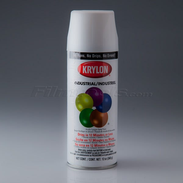Krylon K01501 #1501 Gloss White Spray Paint, Mfr #: K01501