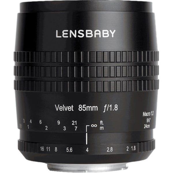 Lensbaby Velvet 85mm f/1.6 Lens for Micro Four Thirds