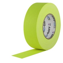 "ProTapes 2"" Paper Tape - Fluorescent Yellow"