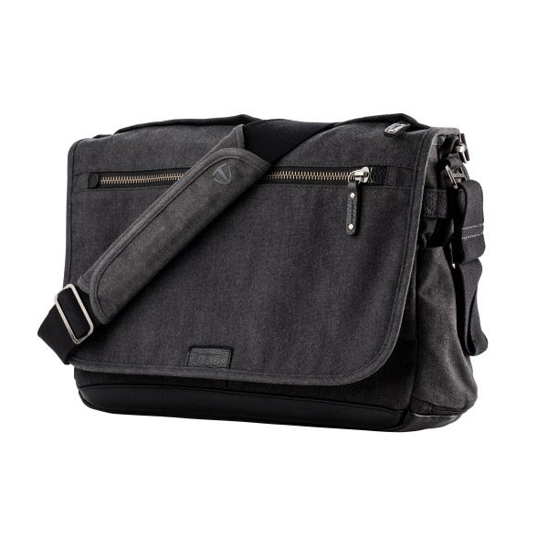 Tenba Cooper 15 Slim Messenger Bag - Gray