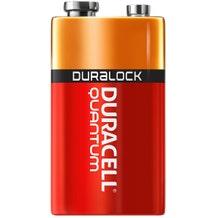 Duracell 9V Quantum Battery - QU1604BKD - Alkaline - PowerCheck - 12 Pack