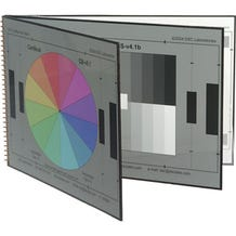 DSC Labs CK5 Cambook-5 Grayscale Portable Chip Chart