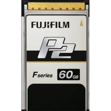 Fuji 60GB F-Series P2 Memory Card - Read/Write up to 1.2GB/s