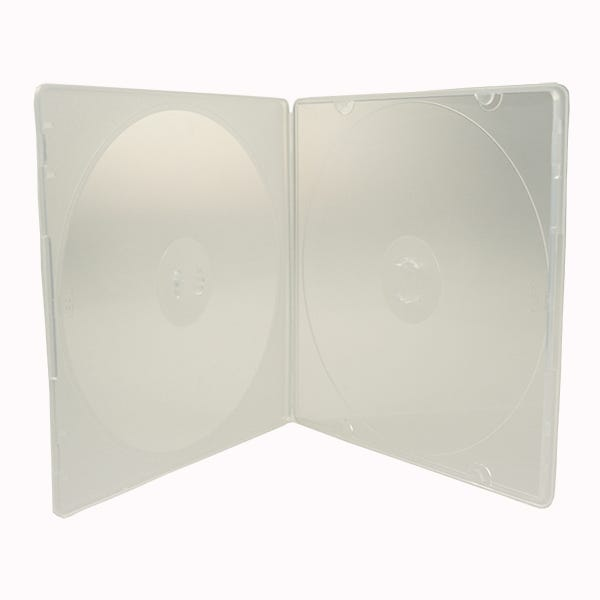 5.2mm Slim Clear 2-Disc CD/DVD Poly case