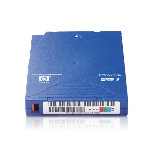 HP 100GB LTO Ultrium 1 Data Cartridge