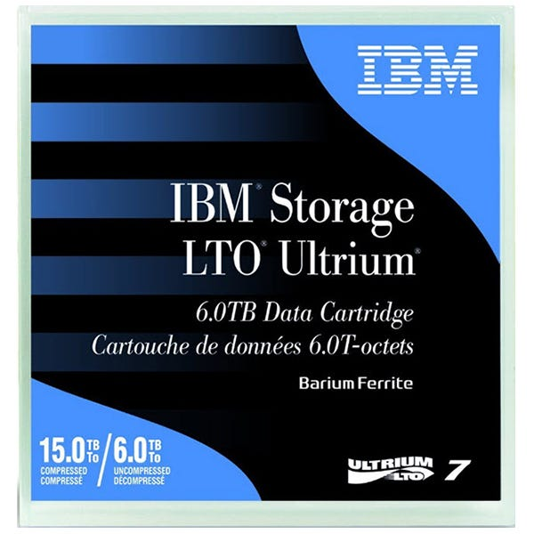 IBM 6.0TB LTO Ultrium 7 Data Cartridge
