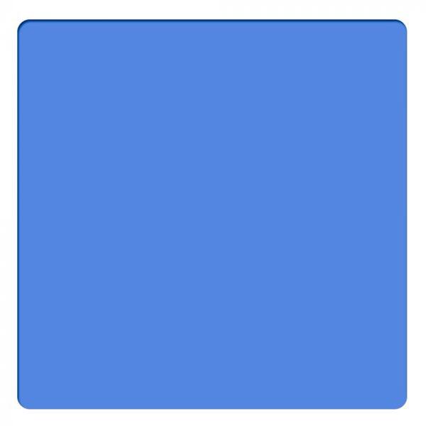 "Schneider Optics 6.6 x 6.6"" Solid Color Sapphire Blue 1 Water White Glass Filter"