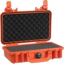 Pelican 1170 Case with Foam - Orange