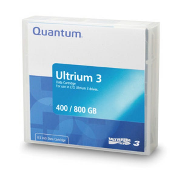 Quantum 400GB LTO Ultrium 3 Data Cartridge