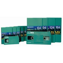 Sony MPEG IMX Video Tape - 94 Minutes - Large Cassette w/ Al
