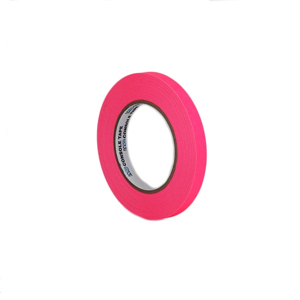 "ProTapes 1/2"" Artist's Paper Tape - Fluorescent Pink"