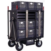 Backstage 7-Crate Set Box Studio / Stage Cart
