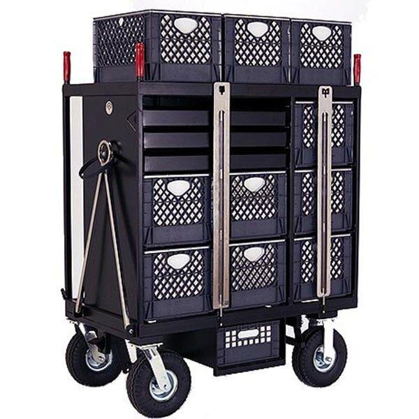 Backstage 7-Crate Set Box Studio / Stage Cart