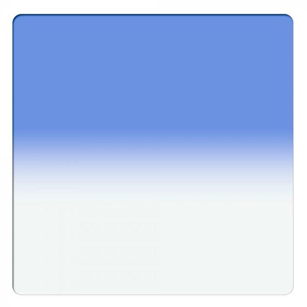 "Schneider Optics 6.6 x 6.6"" Graduated Sapphire Blue 2 Water White Glass Filter - Soft Edge"