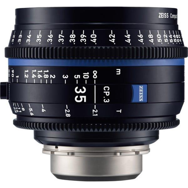 Zeiss CP.3 35mm T2.1 Compact Prime Lens - PL Mount