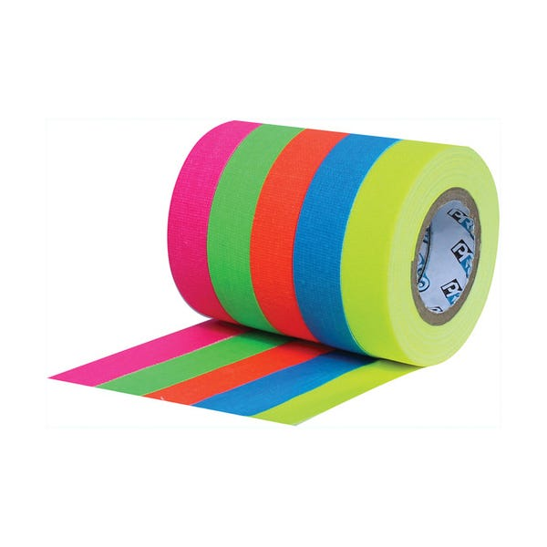 "ProTapes 1/2"" Pro Pocket Fluorescent Color Spike Tape Stack"