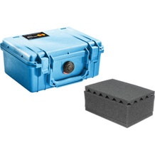 Pelican 1150 Case with Foam - Blue