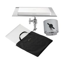 "Tether Tools Table Aero MacBook Pro 17"" - Silver"