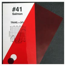 "Rosco Cinelux 41 Salmon 48""x 25' Roll"