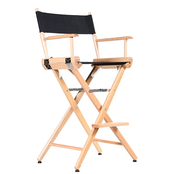 Film Craft Tall Studio Director's Chair - Natural