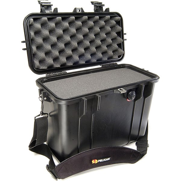 Pelican 1430 Top Loader Case with Foam - Black