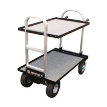 """Backstage Equipment Magliner Modified Junior Cart with 24"""" Shelves"""