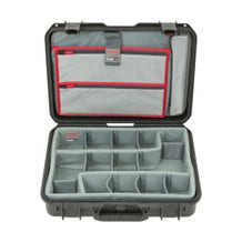 SKB iSeries 1813-5 Case with Think Tank Photo Dividers & Lid Organizer (Black)
