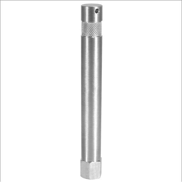 "Modern Studio Equipment 6"" Aluminum Baby Pin with 1/4"" Female Thread"