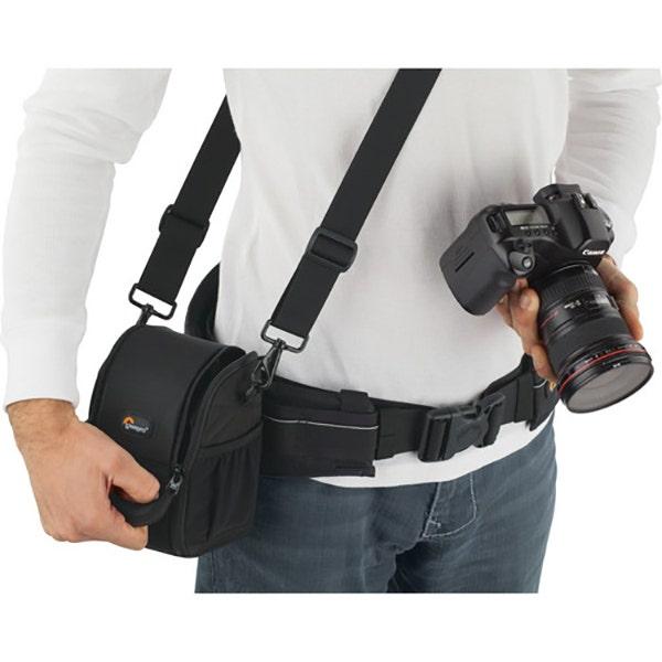 Lowepro S&F Lens Exchange Case 100 AW - Black