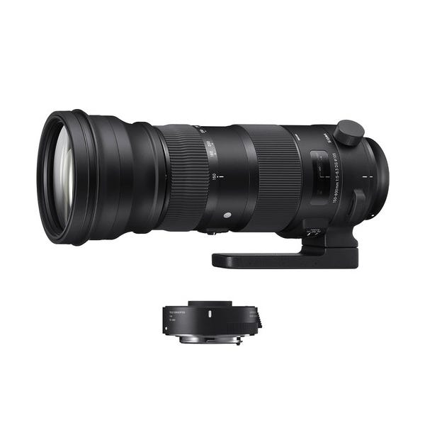 Sigma 150-600mm f/5-6.3 DG OS HSM Sports Lens and TC-1401 1.4x Teleconverter Kit for EF Mount