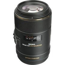 Sigma 105mm f/2.8 EX DG OS HSM Macro Lens (EF Mount)