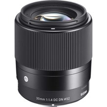 Sigma 30mm f/1.4 DC DN Contemporary Lens (MFT Mount)