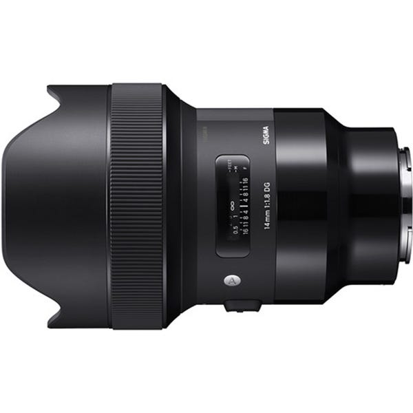Sigma 14mm f/1.8 DG HSM Art Lens for E Mount