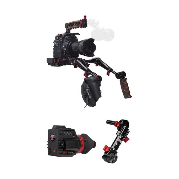 Zacuto C200 Rig with Dual Grips - Gratical HD Bundle