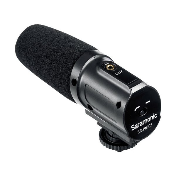 Saramonic SR-PMIC3 Surround Recording Microphone with Integrated Shockmount for DSLR Cameras/Camcorders