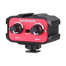 Saramonic SR-AX100 Passive 2-Channel Audio Adapter for DSLR Cameras