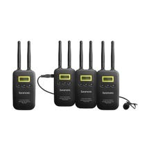 Saramonic VmicLink5 5.8 GHz SHF Three Microphone Wireless Lavalier and Receiver System (5725 to 5875 MHz)