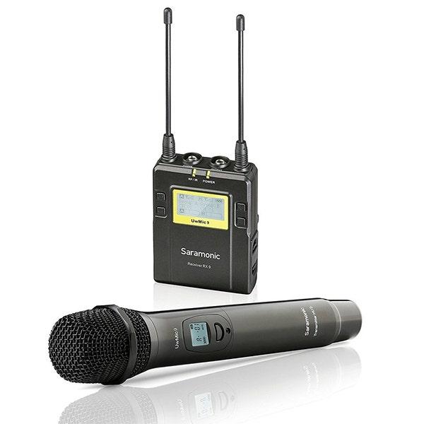 Saramonic UWMIC9RX9+HU9 Handheld Mic with Dual Channel Bodypack Receiver (514 to 596 MHz)