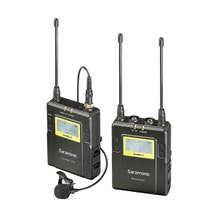 Saramonic UWMIC9 RX9 + TX9, 96-Channel Digital UHF Wireless Lavalier Mic System (514 to 596 MHz)