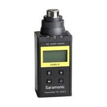 Saramonic TX-XLR9 Plug-On XLR Transmitter for UwMic9 UHF Wireless Mic System (514 to 596 MHz)